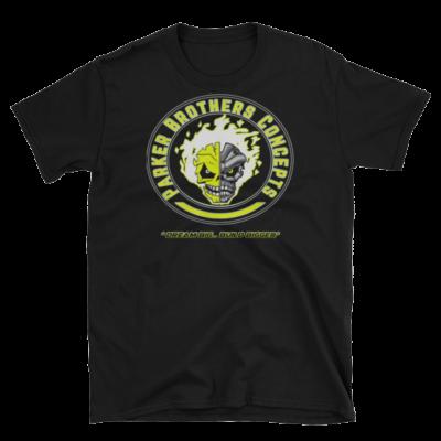 Mens T-Shirt – Yellow Skulls