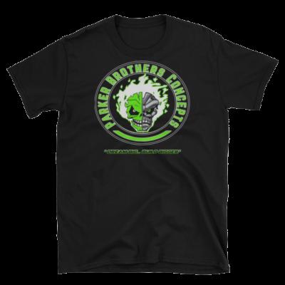 Mens T-Shirt – Green Skulls