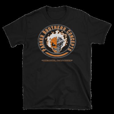 Mens T-Shirt – Orange Skulls