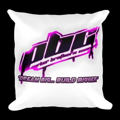 PBC Square Pillow