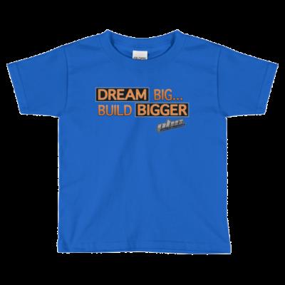 Dream Bigger PBC Kids Short Sleeve T-Shirt