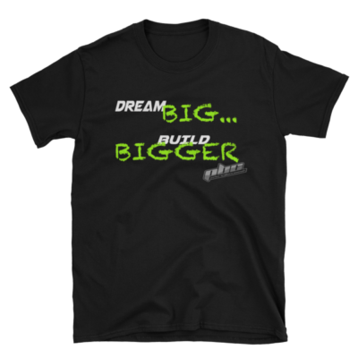 Dream Big Chalk Mens T-Shirt