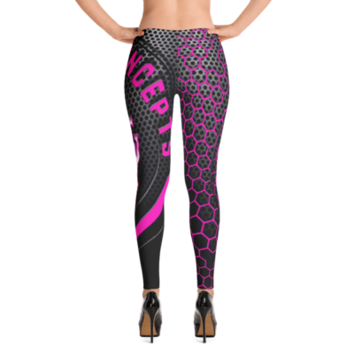 Hot Pink PBC Branded Leggings